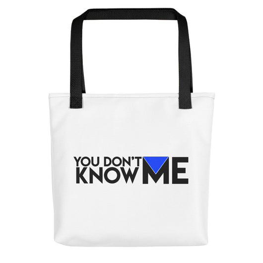 You Don't Know Me Logo Tote bag