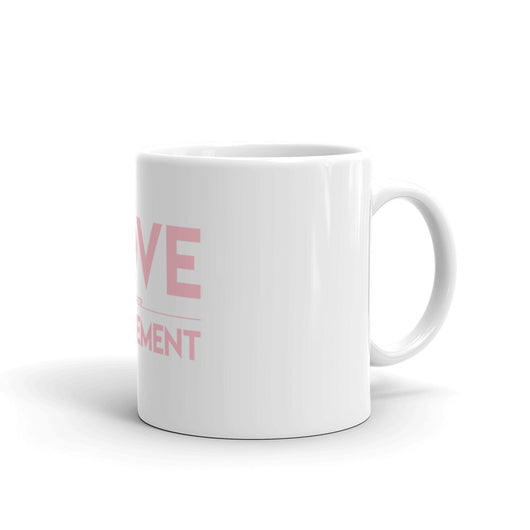 Love Over Judgement Mug (Pink)