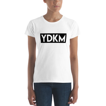Women's short sleeve YDKM Block t-shirt