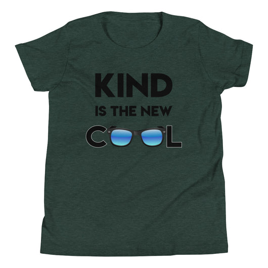YDKM KIDS - Kind Is The New Cool - (Unisex) Youth Short Sleeve T-Shirt {4 Colors}
