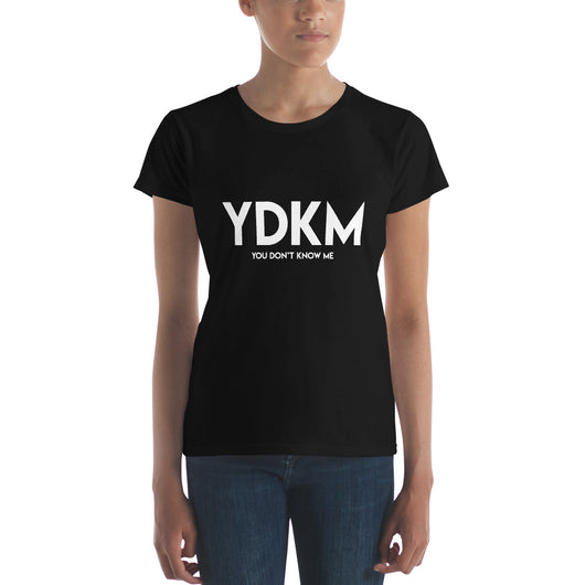 Women's short sleeve YDKM w t-shirt