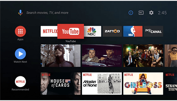 Android TV 9.0