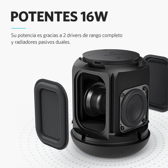 Parlante Bluetooth Motion Q