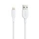 Cable PowerLine II Lightning 0.9m Blanco