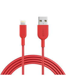 Cable PowerLine II lightning 1.8m Rojo