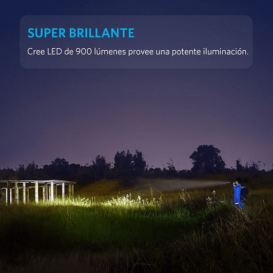 Linterna LED LC90