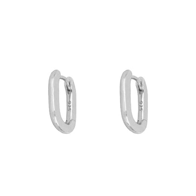 Bari Silver Earrings
