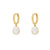 Happy White Gold Earrings