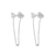 Trau Silver Earrings