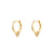 Treia Gold Earrings