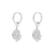 Talle Silver Earrings
