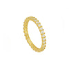 White Uma Gold Ring