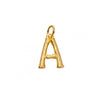 Charm Capital Letter Gold