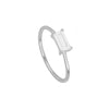 Anillo Tame White Silver