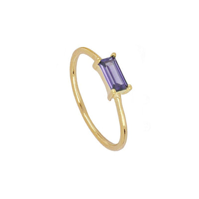 Anillo Tame Violet Gold