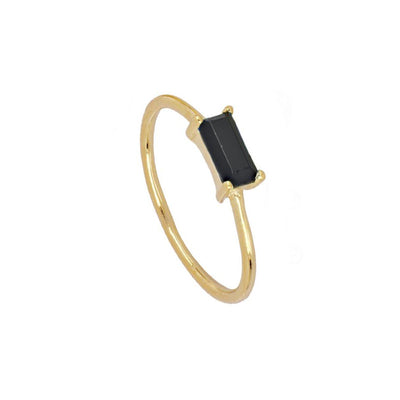 Anillo Tame Black Gold