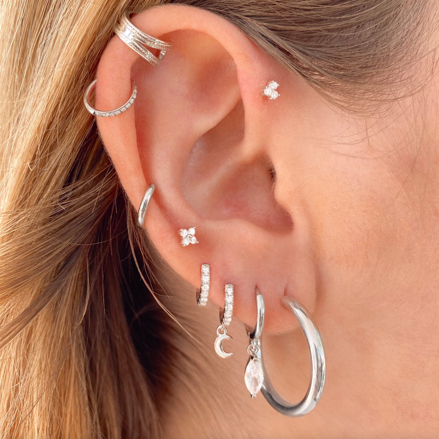Olivia Silver Earrings