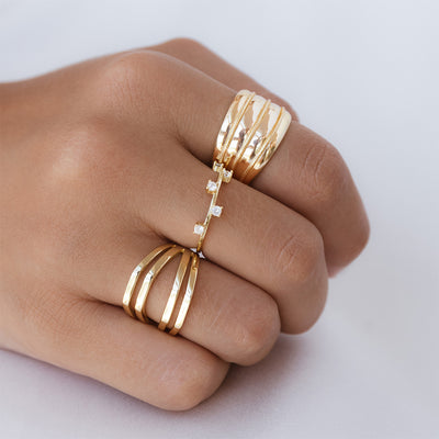 Nure Gold Ring