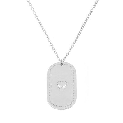 Amore Silver Necklace