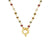 Eira Tourmaline Gold Necklace