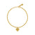 Pulsera None Coeur Gold