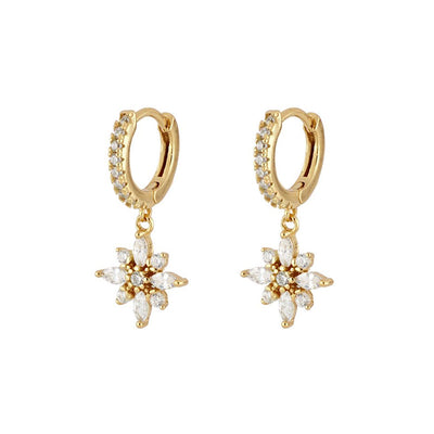 Fika Gold Earrings