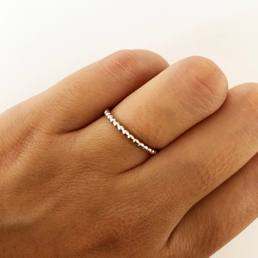 India Silver Ring