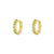 Aube Opal Gold Earrings
