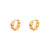 Mini Chain Gold Earrings