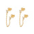 Mini Kumm Gold Earrings
