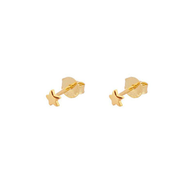 Pendientes Mini Star Gold