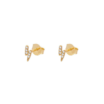 Pendientes Mini Thunder Gold