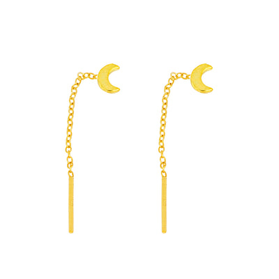Gia Moon Gold Earrings