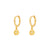 Ra Gold Earrings