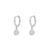 Ra Silver Earrings