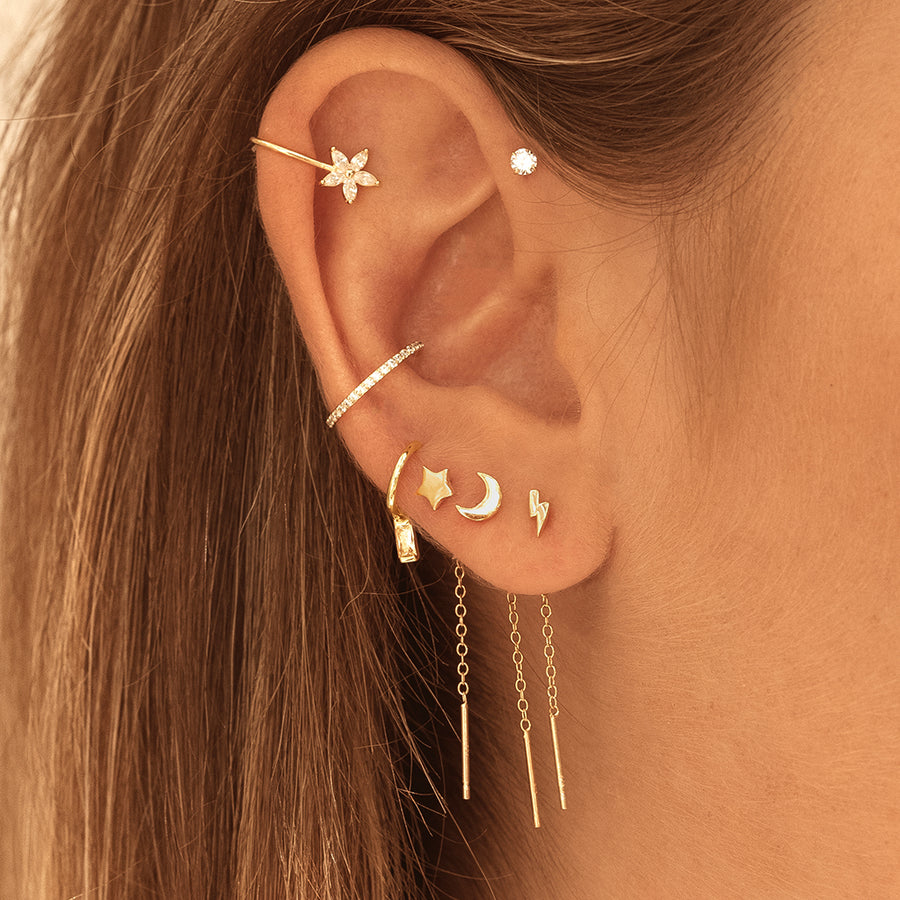 Gia Star Gold Earrings