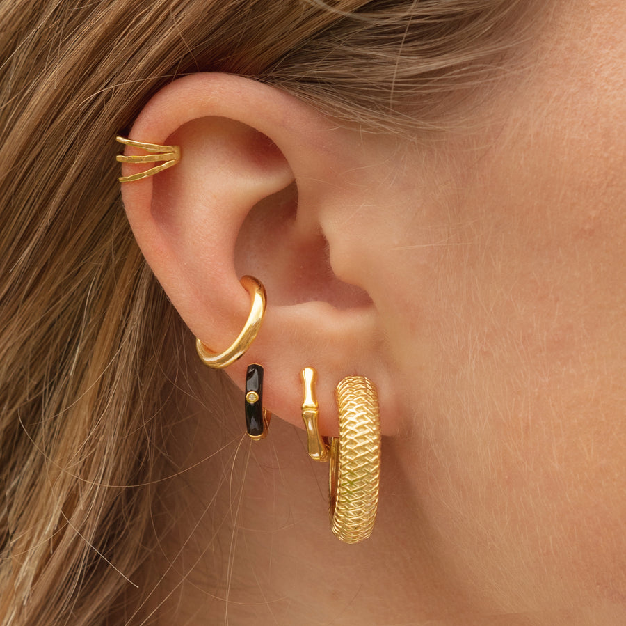 Earcuff Big Line Gold
