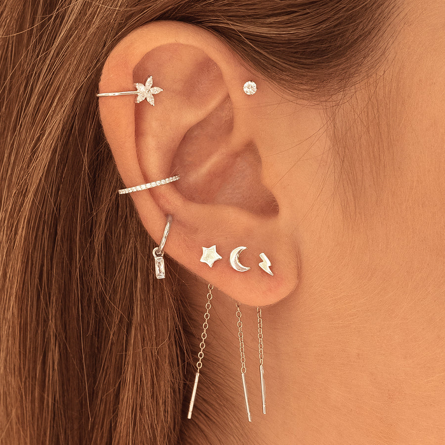 Piercing Doma Silver