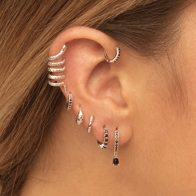 Nuk Silver Earrings