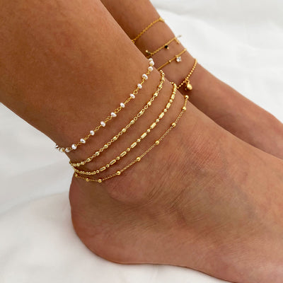 Tropic Gold Anklets