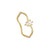 Anillo Vague Gold