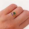 Tame Green Gold Ring