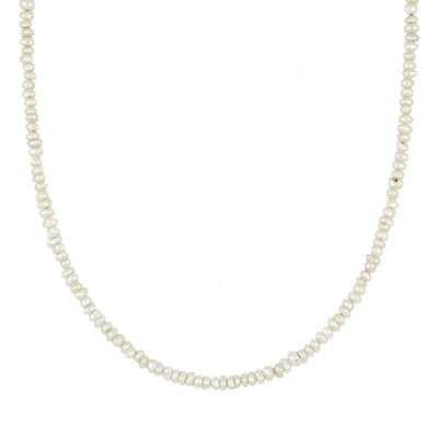 Mini Pearls Gold Necklace
