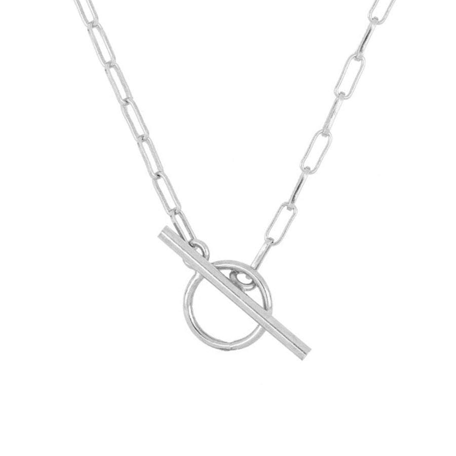 Dois Silver Necklace