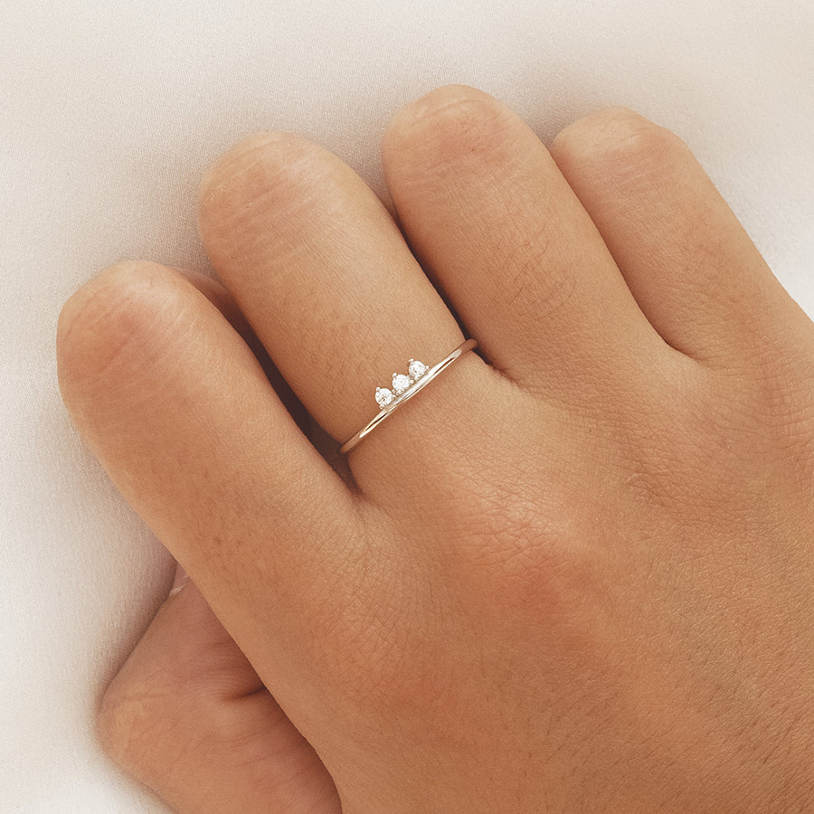 Line Silver Ring