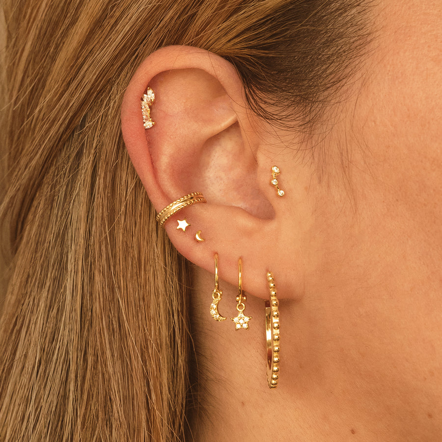 Clair Gold Earrings