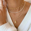 Klein Pearl Gold Necklace