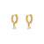Dien Gold Earrings