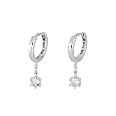 Enia Silver Earrings