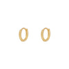 Pendientes Mini Sail Gold